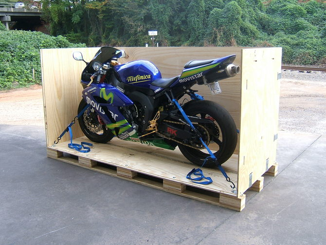 Transporting Your Motorcycle, Trailer or Van?